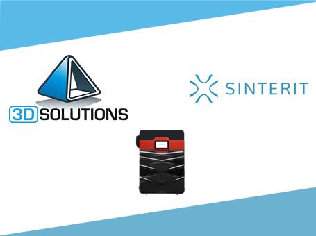 3D SOLUTIONS devient distributeur de la marque SINTERIT