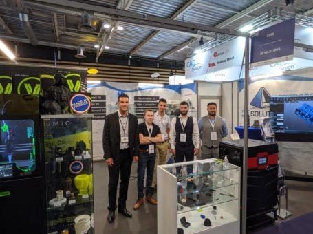 L'équipe 3D Solutions au salon Global Industrie 2021
